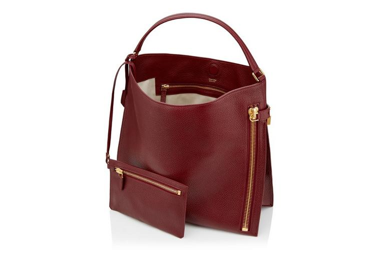 LARGE GRAIN LEATHER ALIX HOBO D fullsize