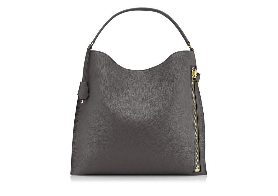 GRAIN LEATHER ALIX HOBO A fullsize