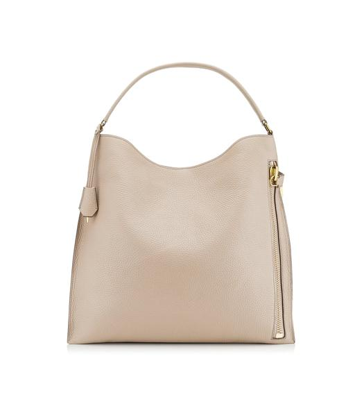 GRAIN LEATHER ALIX HOBO