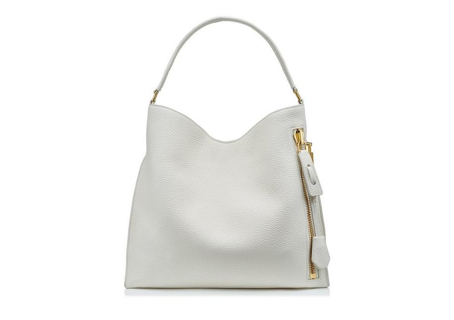 GRAIN LEATHER SMALL ALIX HOBO A fullsize