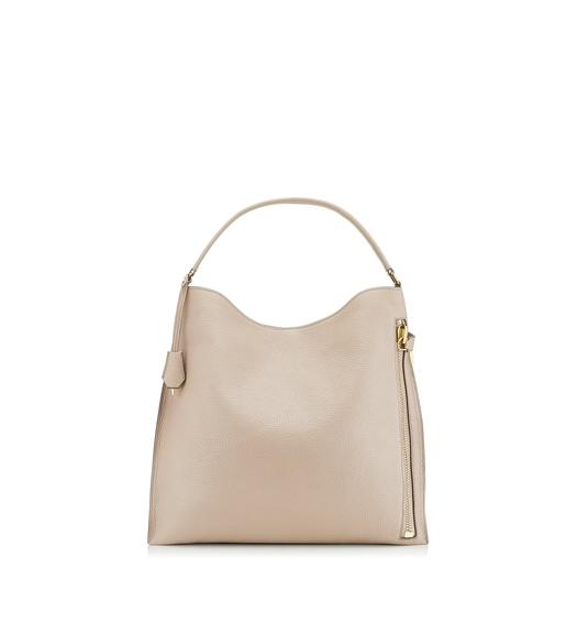 GRAIN LEATHER SMALL ALIX HOBO