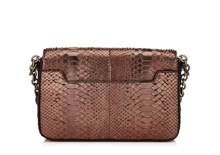 MEDIUM METALLIC PYTHON CHAIN NATALIA WITH STONE LOCK C fullsize