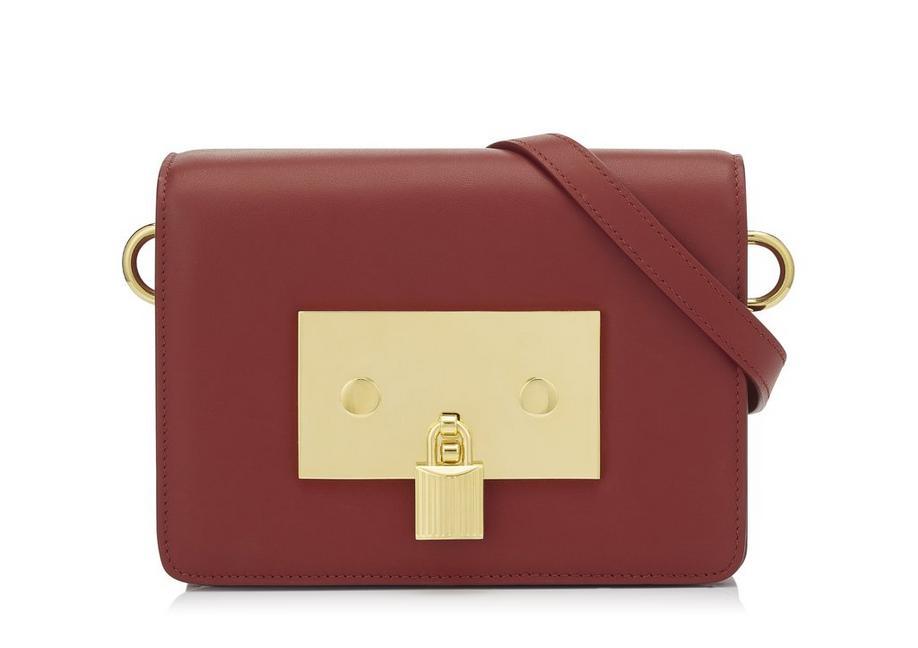 LEATHER PADLOCK BAG A fullsize