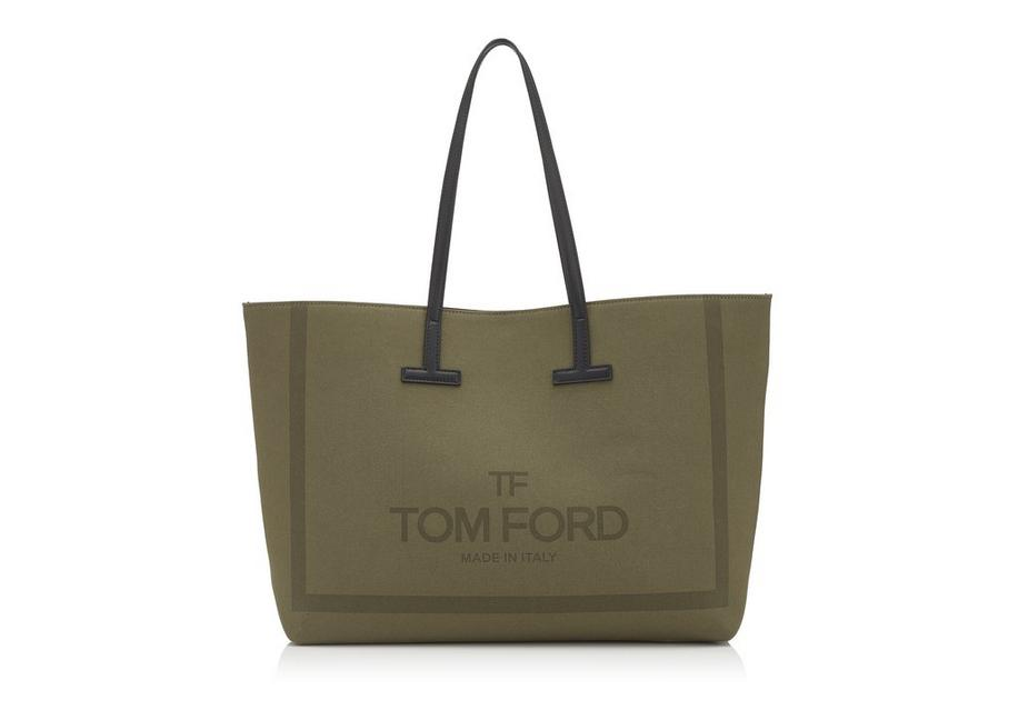 Canvas Medium T Tote by Tom Ford