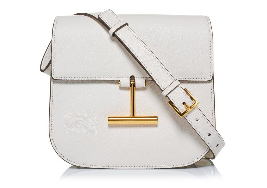 GRAIN LEATHER MINI TARA CROSSBODY BAG A fullsize