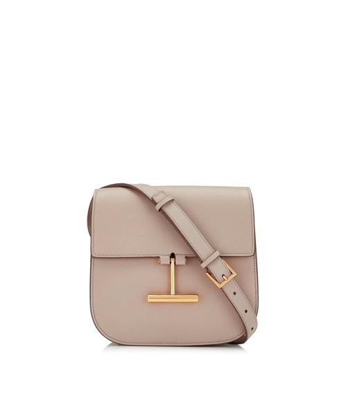 GRAIN LEATHER MINI TARA CROSSBODY BAG