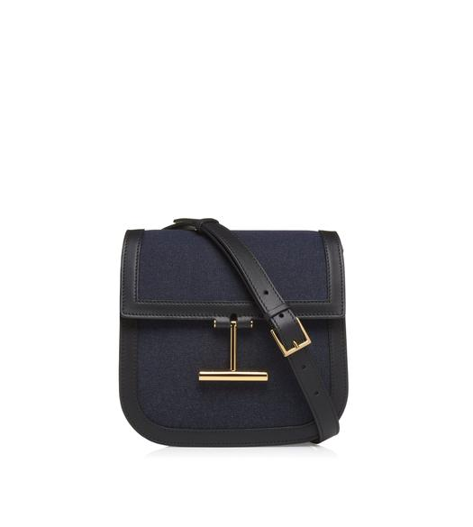 DENIM MINI TARA CROSSBODY BAG