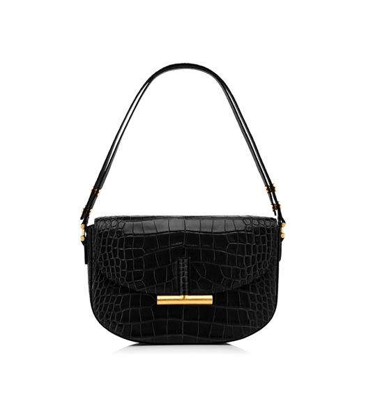 ALLIGATOR SASHA SHOULDER BAG