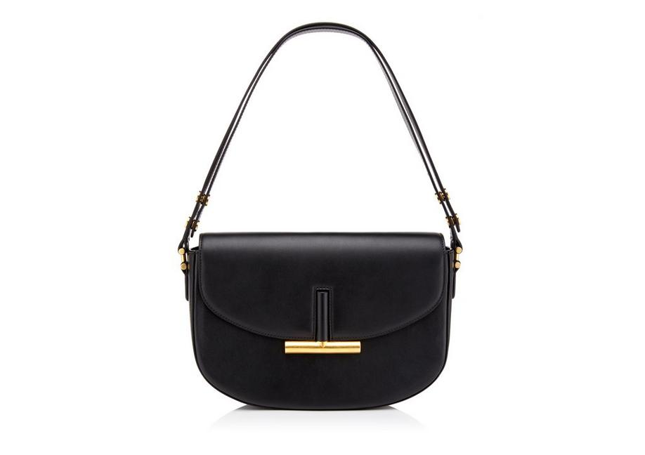 SMOOTH LEATHER SASHA SHOULDER BAG A fullsize
