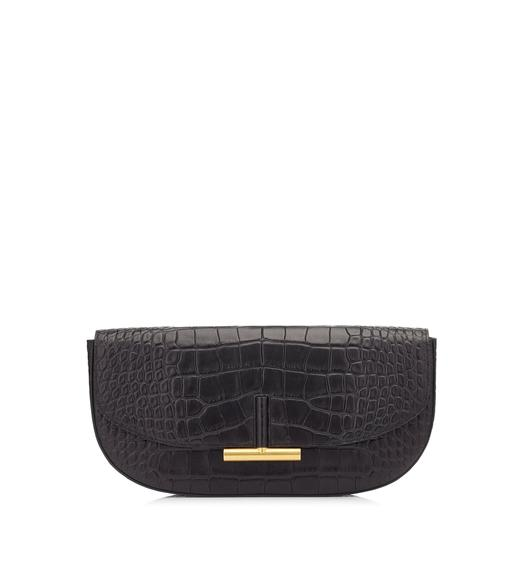 ALLIGATOR SASHA CLUTCH