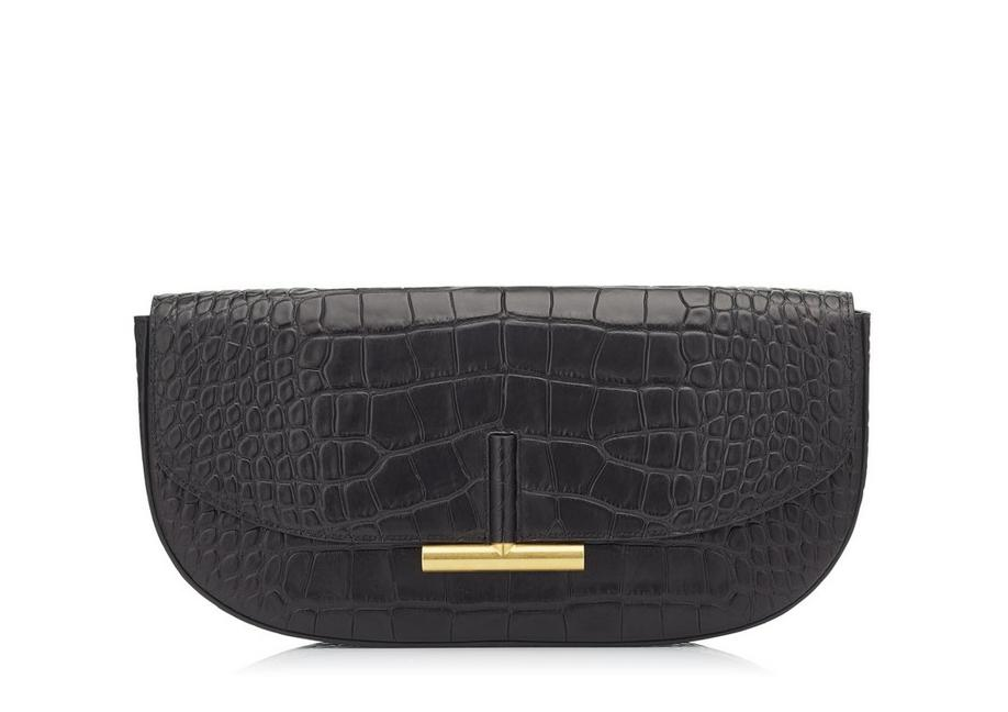 ALLIGATOR SASHA CLUTCH A fullsize