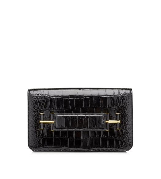 ALLIGATOR TARA CLUTCH