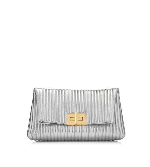 METALLIC SOFT NATALIA CLUTCH