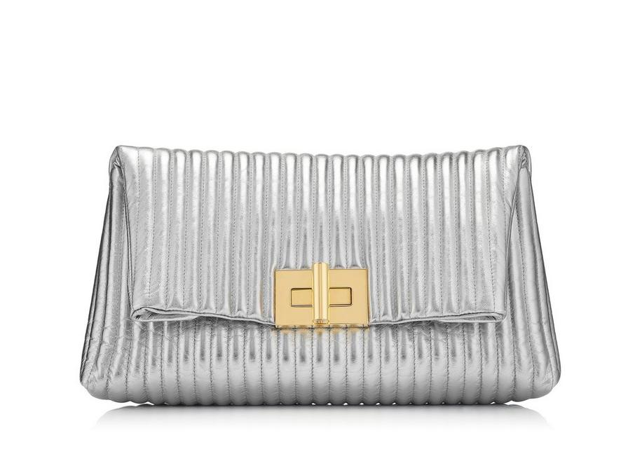 METALLIC SOFT NATALIA CLUTCH A fullsize