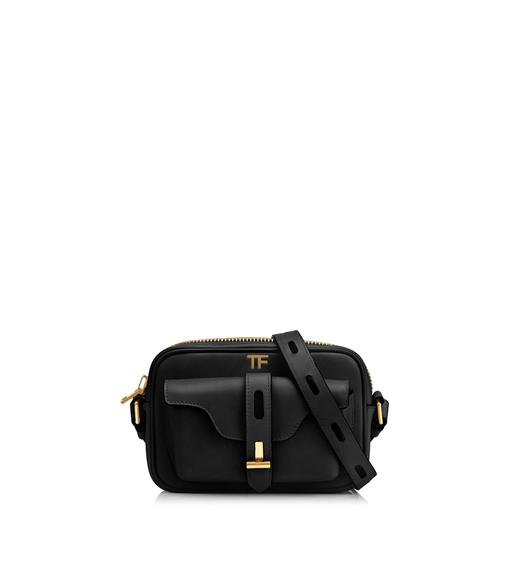 HOLLYWOOD LEATHER T TWIST CAMERA BAG