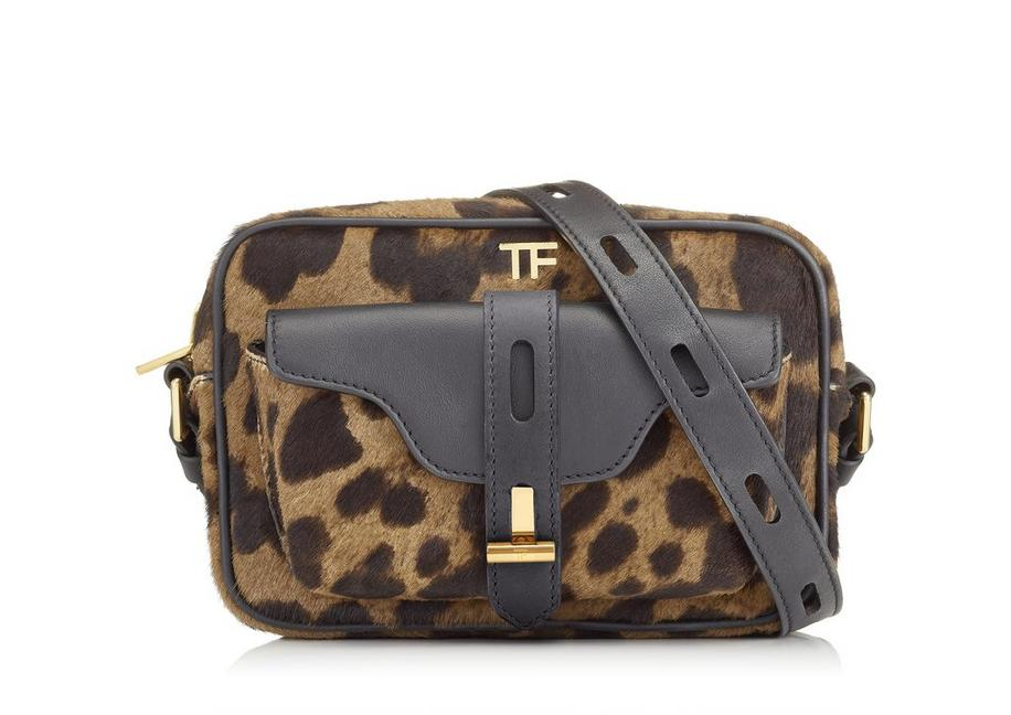 LEOPARD PRINTED CAMERA BAG A fullsize