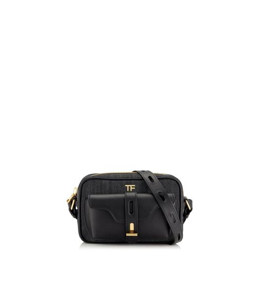 DENIM T TWIST CAMERA BAG