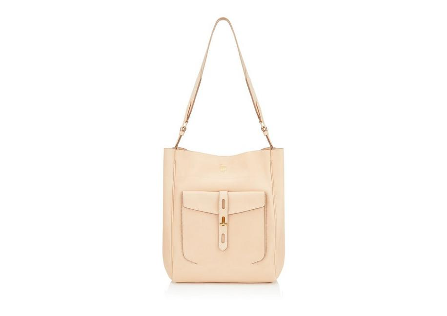 HOLLYWOOD LEATHER T TWIST HOBO A fullsize