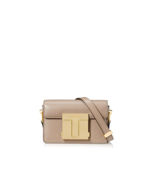 SHINY GRAINED LEATHER SMALL 001 BAG