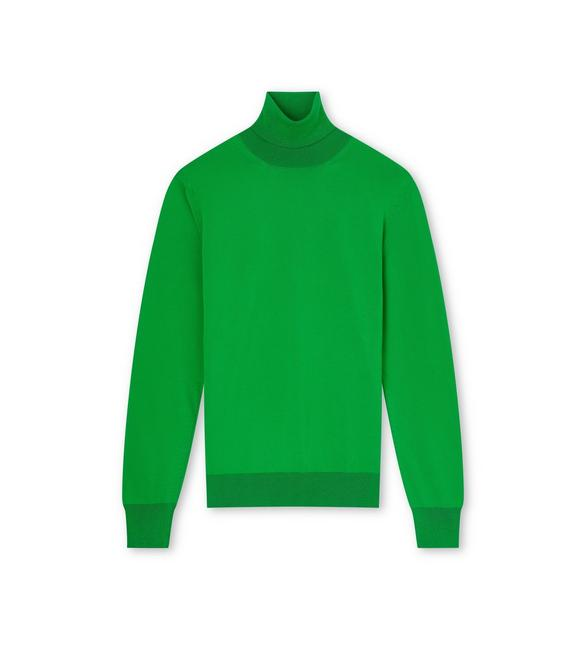FLUORESCENT WOOL TURTLENECK SWEATER A fullsize