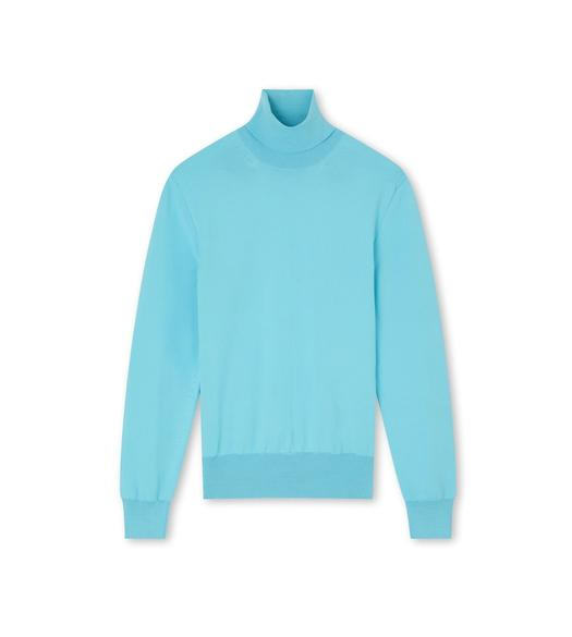FLUORESCENT WOOL TURTLENECK SWEATER