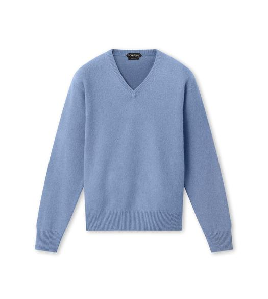 BRUSHED PURE CASHMERE SWEATER