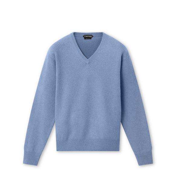 BRUSHED PURE CASHMERE SWEATER A fullsize