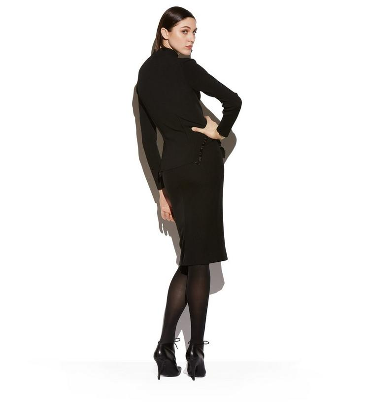 TURTLENECK WITH SILK FRILLS C fullsize