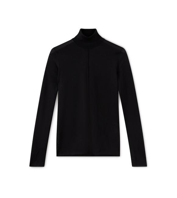 SILK TURTLENECK A fullsize