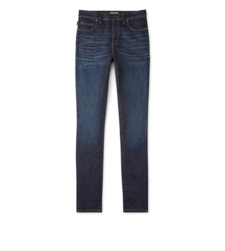 SKINNY DENIM DARK BLUE PANT A fullsize