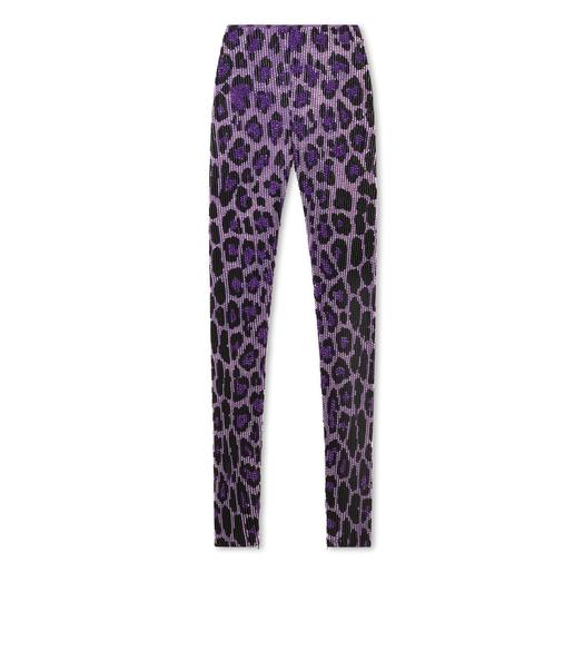 EMBROIDERED JAGUAR LEGGINGS