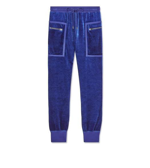 STRETCH VISCOSE SWEATPANTS