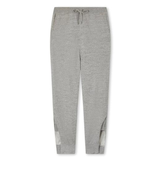 COTTON JERSEY OVERSIZE SWEATPANTS