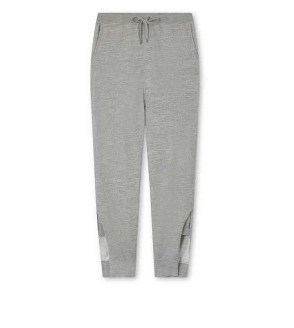 COTTON JERSEY OVERSIZE SWEATPANTS A fullsize