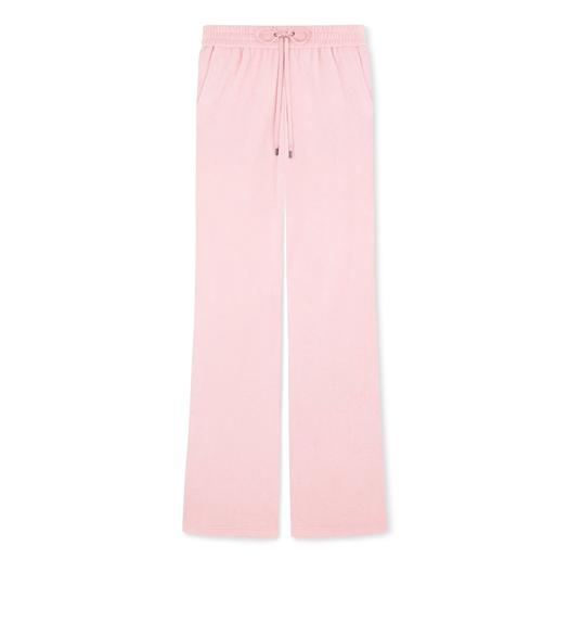 TOWELLING JERSEY DRAWSTRING PANTS