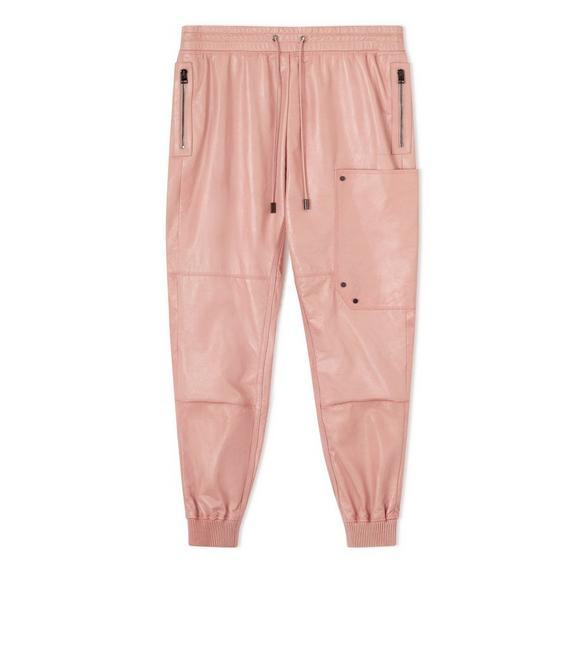 LEATHER JOGGERS A fullsize