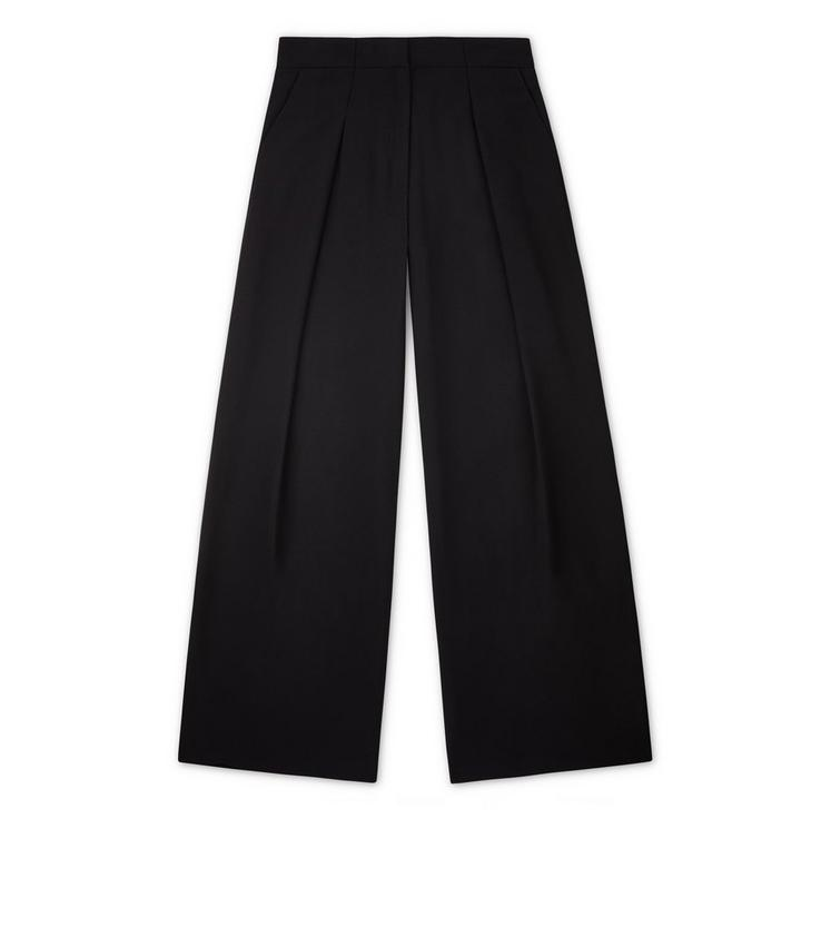 WIDE-LEG PANT WITH PLEAT A fullsize
