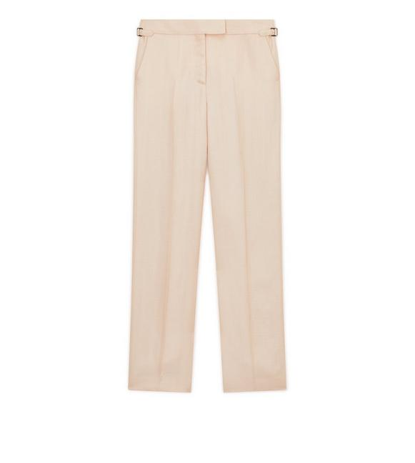 STRAIGHT FIT TROUSERS A fullsize