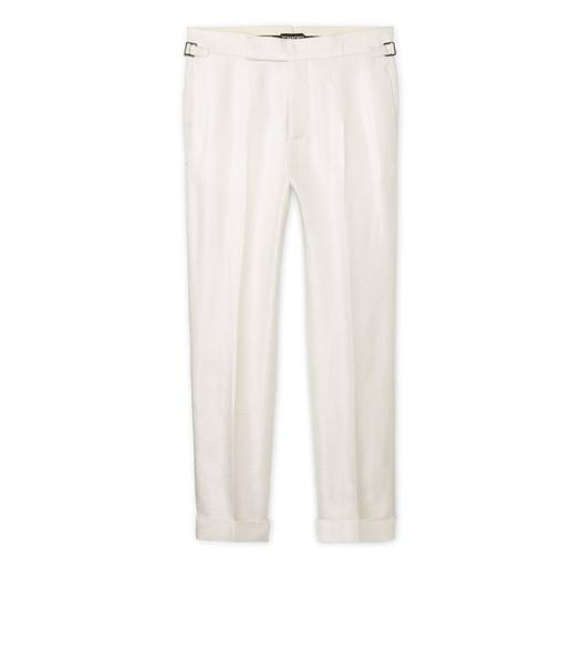 VISCOSE STRAIGHT PANTS