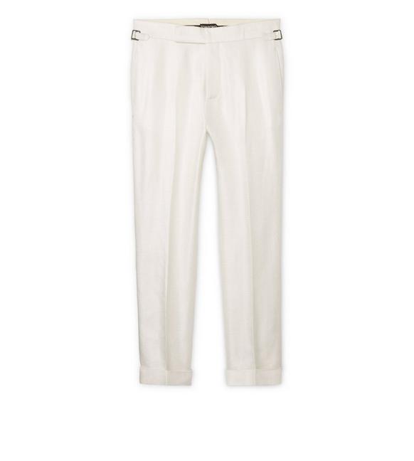 VISCOSE STRAIGHT PANTS A fullsize