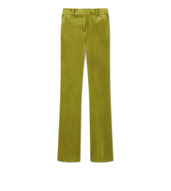 VELVET FLARED PANTS A fullsize