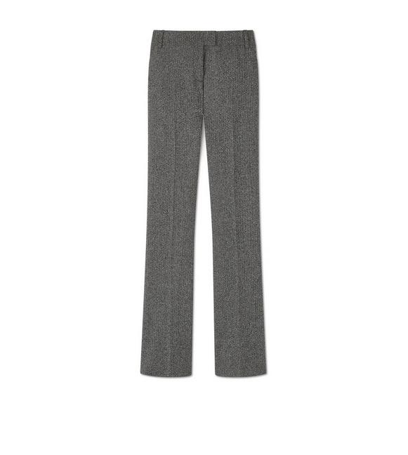 TWEED FLARED PANTS A fullsize
