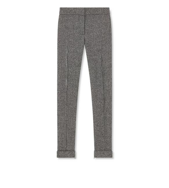 TWEED SLIM PANTS A fullsize