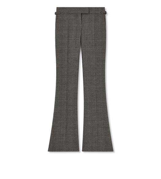 PRINCE OF WALES FLARE PANTS