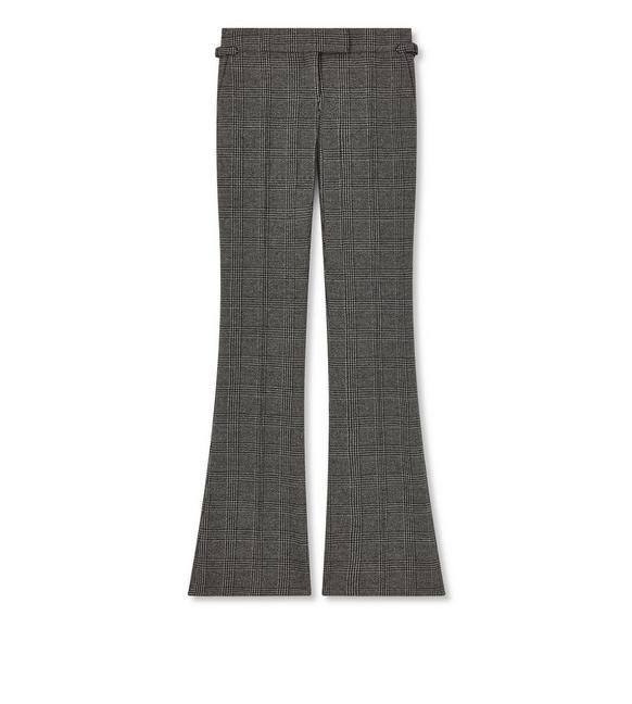 PRINCE OF WALES FLARE PANTS A fullsize