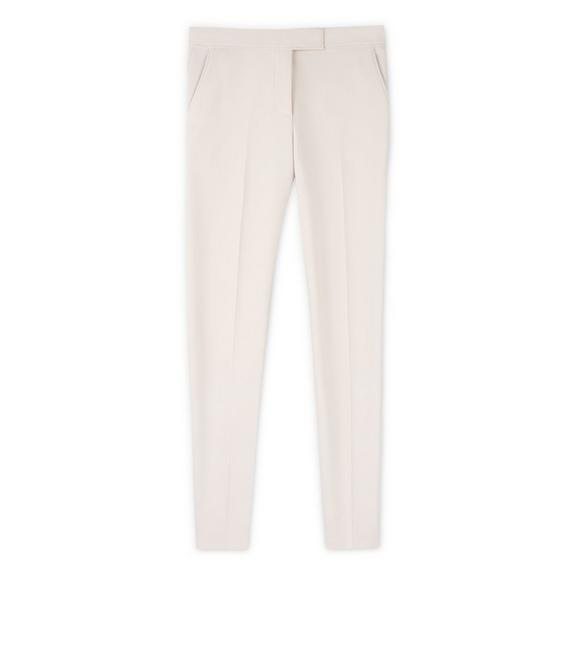 DOUBLE SPLITTABLE STRETCH WOOL PANTS A fullsize