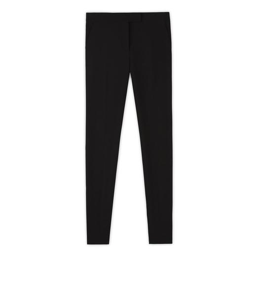 DOUBLE SPLITTABLE STRETCH WOOL PANTS