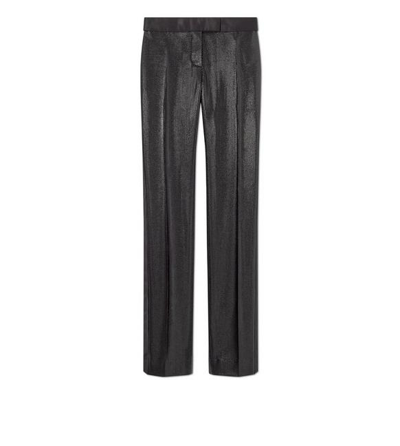 LUREX TECHNICAL WOOL TUXEDO PANTS A fullsize