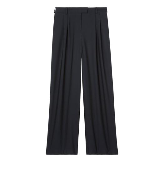 FLUID WOOL TAILORED PANTS
