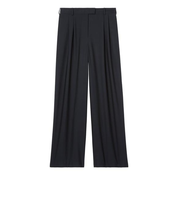 FLUID WOOL TAILORED PANTS A fullsize